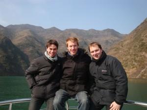 Met Steve en Andy