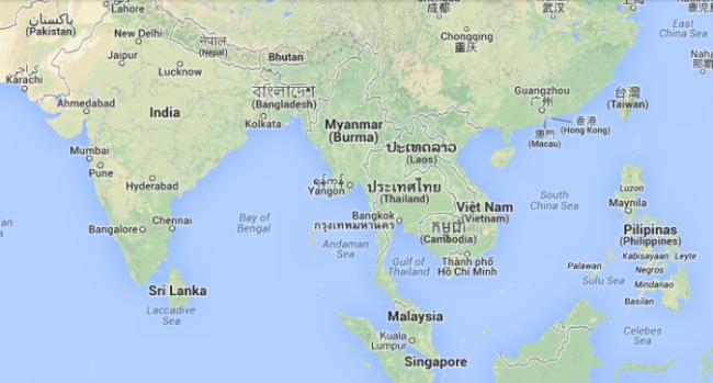 Zuidoost Azie