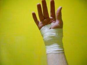 Mijn verbonden hand